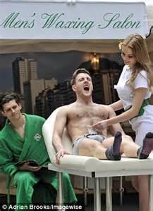 boys taken to beauty salon pot noodle launches bro zilian salon where men can get