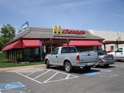 mcdonald s hill ca town center blvd mcdonalds el dorado ca