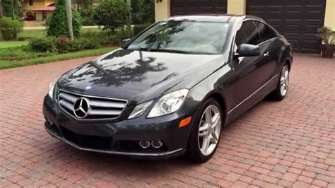 Used Mercedes E350 Coupe by 2010 Mercedes E350 Coupe Autos Post