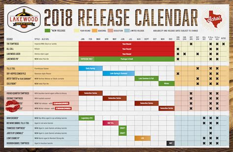Florida A M Master Mba Calendar 2018 by On Tap Credit Union Presents 2018 Release Calendar