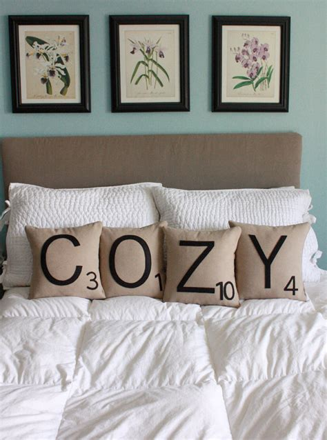 Scrabble Pillows by Cozy Scrabble Pillows Cases Only Scrabble Tile By