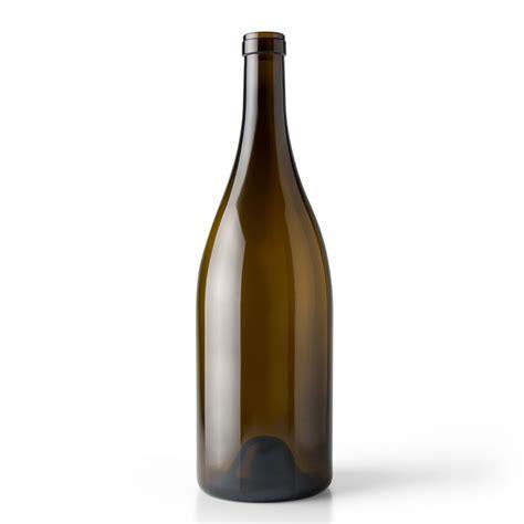 L Wine Bottle by 3 Liter Antique Green Glass Burgundy Wine Bottle Cork
