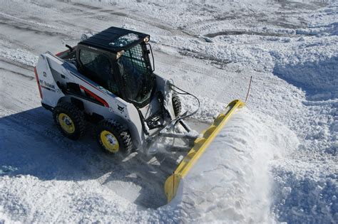 which skid steer should you buy for snow removal