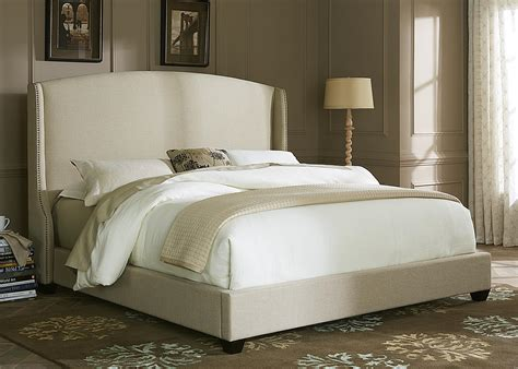 shelter bed queen upholstered shelter bed by liberty furniture wolf
