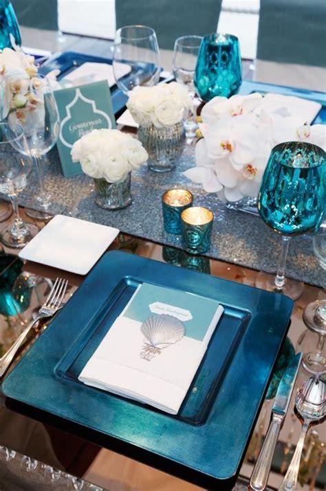 Idées mariage turquoise blanc, carnet d'inspiration #1