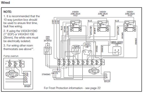 honeywell wiring diagrams uk wiring diagram with description