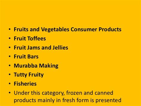 Value Added Product From Vegetable | value added product
