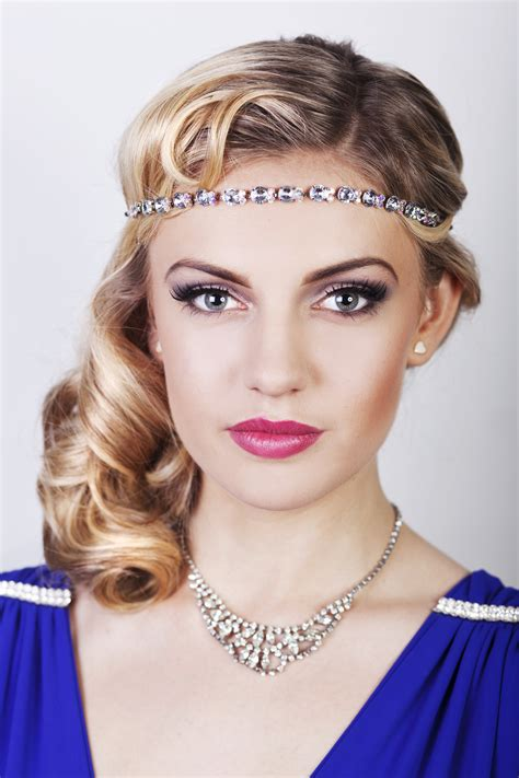 20s hair style tutorial friday feature seriously great gatsby 20s inspired hair