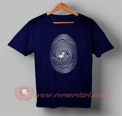 T Shirt Print Custom octo finger print custom design t shirts custom design