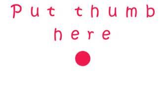 Finger Dan Thumb Originals put your finger here an interactive gallery avatar