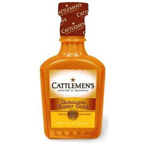 cattlemen s master s reserve carolina tangy gold bbq sauce