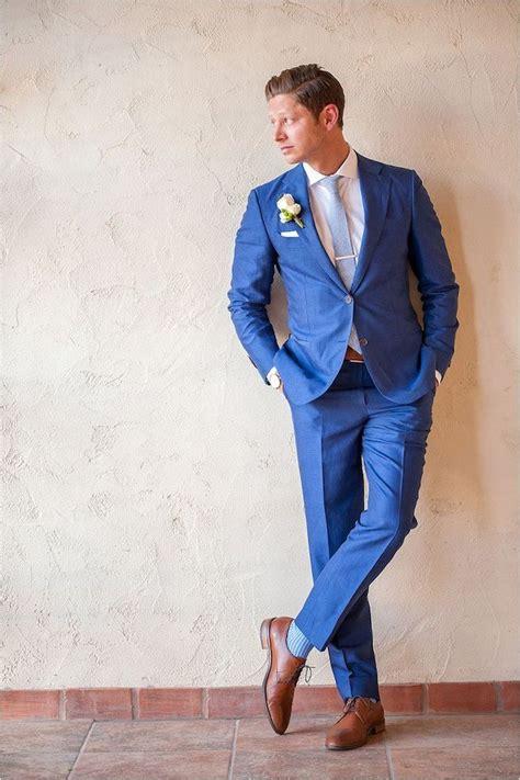 Blaue Schuhe Hochzeit by 1001 Ideen Wie Blauer Anzug Braune Schuhe Und Passende