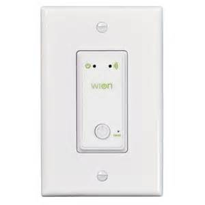 Wireless Ceiling Light Switch Woods Wion Indoor Wi Fi In Wall Light Switch With Wireless Switch And Programmable Timer 50052