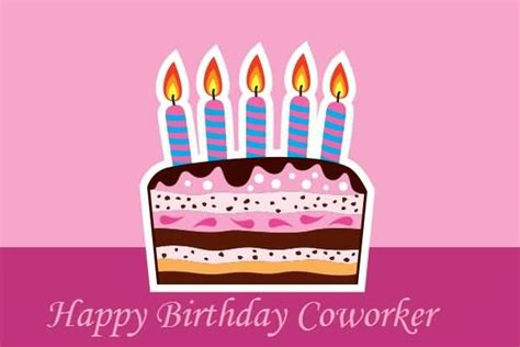 Happy Birthday Wishes Coworker Birthday Wishes For Coworker Page 4