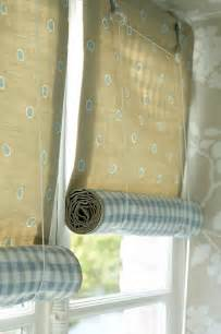 grasshoppers interiors how to make a rolled up blind