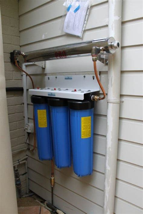 How To Install Whole House Water Filter by Uv Whole House Water Filter System Cto 48lpm Big Blue
