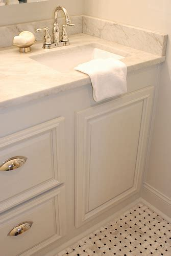 Carrara Bathroom Countertops Design Ideas