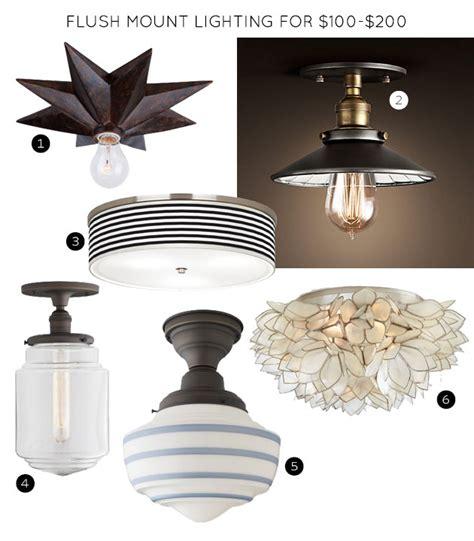 making it lovely the 30 best flush mount lighting fixtures making it lovely