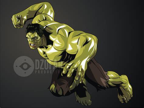 tutorial vector ndop hulk vector by ndop on deviantart