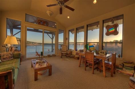 sunset room lake travis waterfront triton custom homes