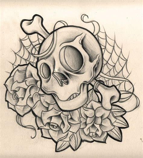 skull n rose tattoo 17 best images about skull roses on the