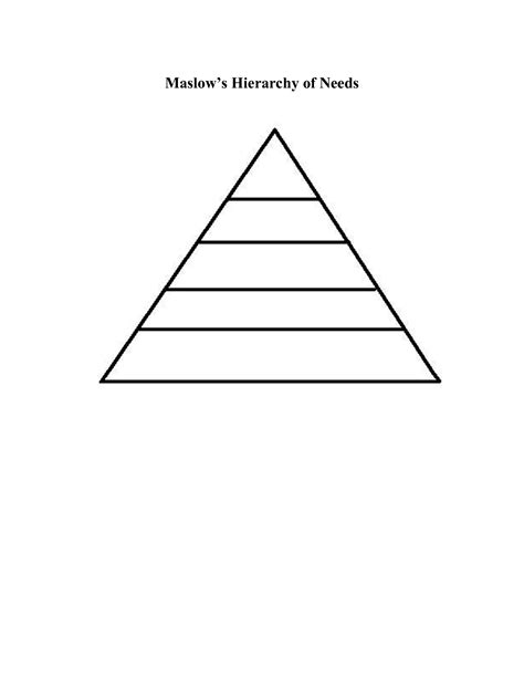 template hierarchy best photos of hierarchy pyramid template editable