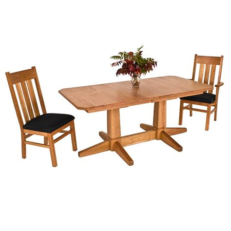double pedestal dining room table vermont double pedestal dining table vermont woods studios