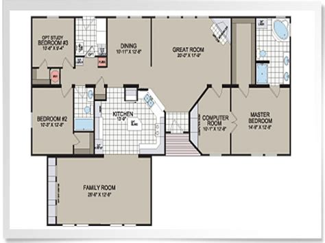 Mobile Home Floorplans | modular homes floor plans and prices modular home floor