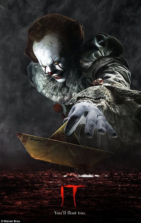 tattoo nightmares narrator pennywise the clown gnaws on child s hand in new it clip
