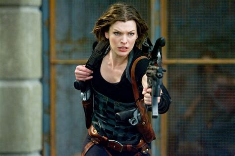 resident evil and milla jovovich resident