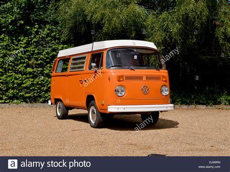 vw type  bay window camper van micro bus westfalia stock photo  alamy