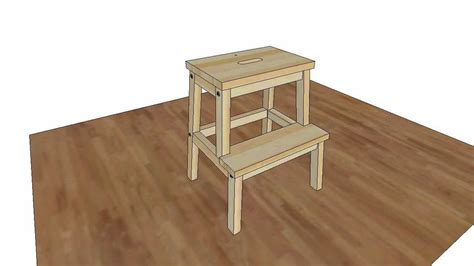 ikea 2 step wooden stool how to assembly ikea bekvam step stool assembly animation