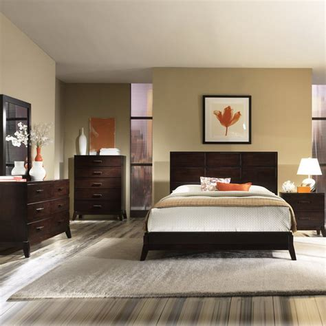 Bedroom Paint Ideas With Brown Furniture 25 Wood Bedroom Furniture Decorating Ideas