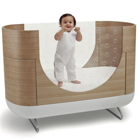 Unique Baby Crib Unique Large Oval Wooden And Metal Baby Crib With Glass Sides Of A Pictures Gallery Of Unique