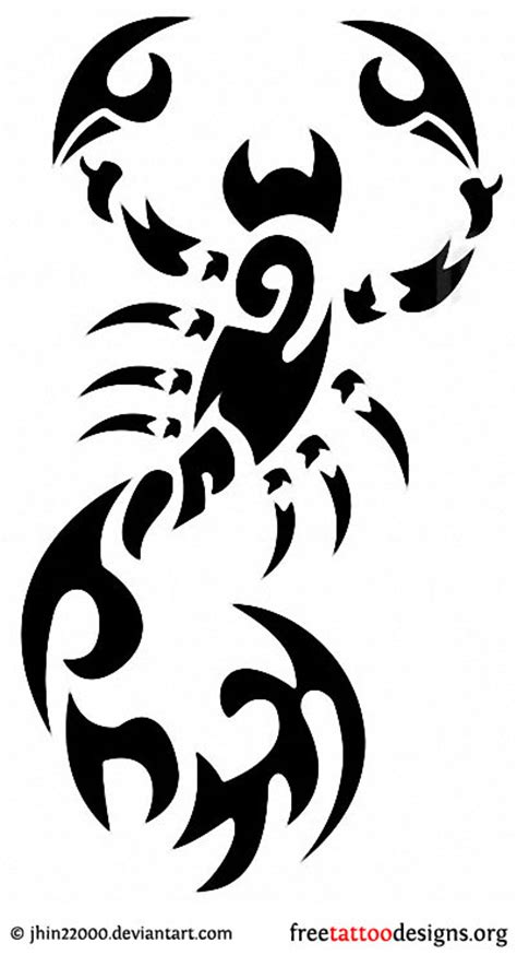 tribal scorpio tattoos 99 scorpion tattoos scorpio designs