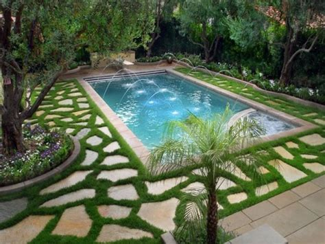 Backyard garden design, beautiful small back yard swimming