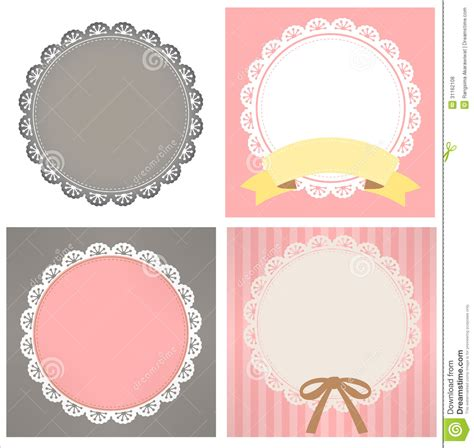 cute lace pattern cute lace pattern royalty free stock photos image 31162108