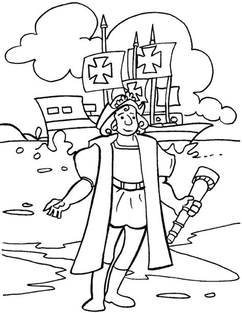 printable coloring pages for columbus day columbus day coloring pages free coloring pages for kids