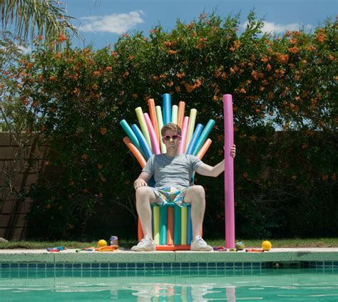 summer is coming of thrones pool noodle throne