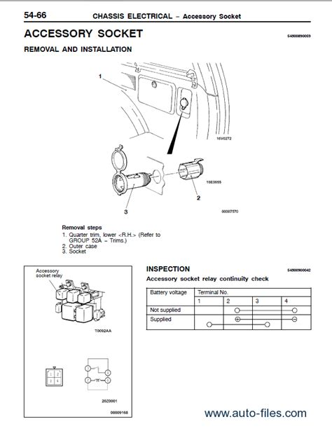 mitsubishi shogun wiring diagram efcaviation