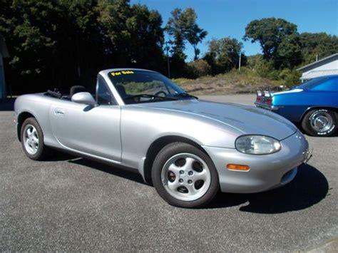 purchase used 1999 mazda miata mx 5 silver convertible 1