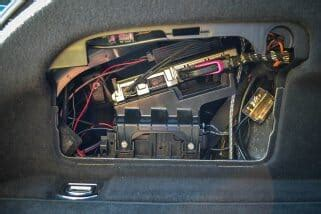 Audi A7 Subwoofer Audio Upgrade Daniel Vreeman