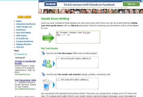 buat tulisan terbalik online membuat tulisan terbalik bbm