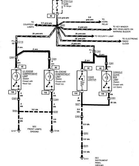 chevrolet impala cigarette lighter wiring diagram