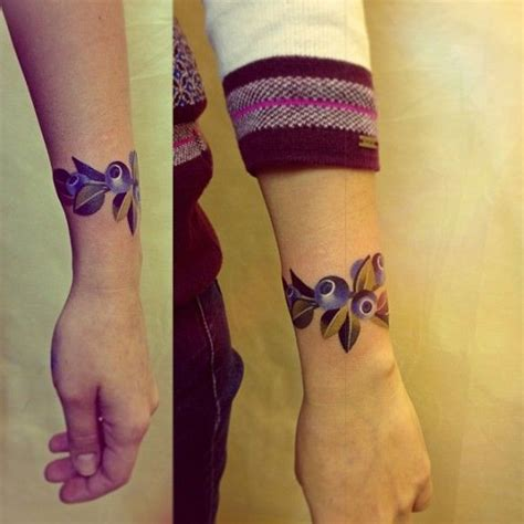 nature wrist tattoos a nature bracelet by unisex ink