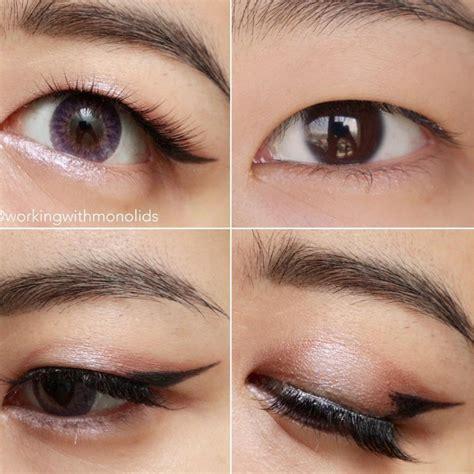 Eyeshadow For Monolid eyeliner makeup tips you need to if you monolid