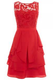 Coast red lace dress 163 135 what to wear to a wedding the instyle