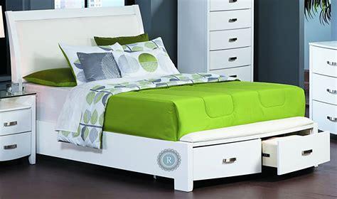 white king storage bed lyric white king sleigh storage bed from homelegance