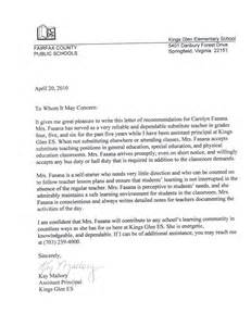 Recommendation Letter Portfolio Letters Of Recommendation Carolyn O Fasana Professional School Counseling Portfolio