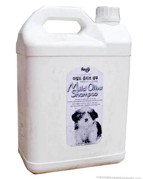 Mild Olive Shoo Forbis mild olive shoo 4 ltr for and cat forbis shoo